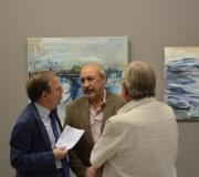 Inaugurada la exposición de pintura y fotografía 'Tiempo, lugar, persona', de Juan Carlos Carmona