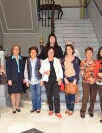 El Ateneo ha recibido a un grupo de alumnas del Aula de la Experiencia de Mairena del Aljarafe