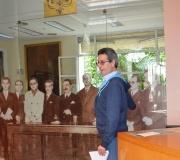 Un grupo de alumnos del Colegio Internacional Alminar, de La Motilla, ha visitado el Ateneo de Sevilla como escala de una ruta literaria