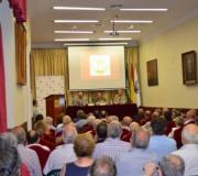 Celebrada la conferencia titulada IFNI: UN TERRITORIO Y UNA GUERRA OLVIDADA que pronunció Miguel Simón Contreras. Presentado por Antonio Nieto Carnicer