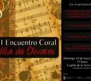 """El domingo 10 de mayo el Coro del Ateneo de Sevilla participa en el III Encuentro Coral """"Villa de Olivares"""""""