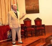 Homenaje a Manuel Benítez Carrasco a cargo de Federico Rivelott