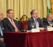 Jesús Peña del Castillo y Ángel Moliní, nombrados Socios de Honor del Excmo. Ateneo