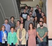 Las Profesoras Rocío Sánchez Lissen y Rocio Román Collado junto a sus alumnos de Máster visitaron el Excmo. Ateneo de Sevilla