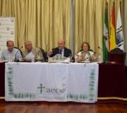 La Asociación Española contra el Cáncer en Sevilla, presidida por Julio Cuesta Domínguez, se ha reunido en el Salón de Actos del Ateneo