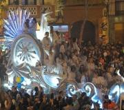 Cabalgata de Reyes Magos por las calles de Sevilla