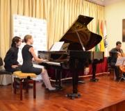 Celebrado el concierto del violín, piano y violonchelo en el Ateneo de Sevilla