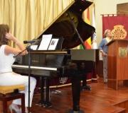Celebrado el acto 'LA MÚSICA Y LA PALABRA', que estuvo a cargo de Cristina Gallego, pianista y cantante