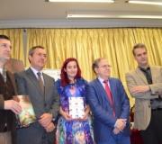 D. Edmundo Díaz Conde y Dª. Jimina Sabadú, ganadores de los Premios de Novela Ateneo 2015, presentaron sus obras ganadoras en presencia del Alcalde de Sevilla, D. Juan Espadas