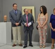 """Exposición de escultura y pintura de la moguereña María José Díaz Olivares bajo el titulo """"Confluencia de tierra"""""""